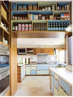 Pellegrino Pantry  Simple, clean pantry storage.