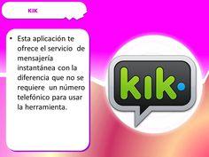 información sobre kik