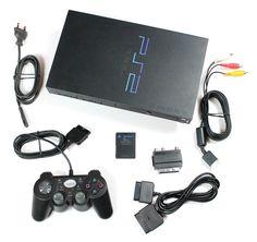 Sony PlayStation 2 Konsole+Komplett+Controller+Spiel+8 MB Memory Card