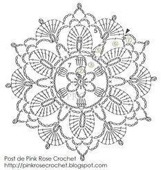 crochet flores patrones margaritas - Buscar con Google