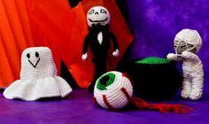 Artesanato com amor...by Lu Guimarães: Decoração de Halloween criativa em crochê
