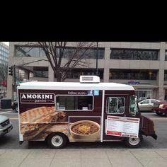 Amorini Food Truck, Washington DC - Food Trucks | #travel #WashingtonDC