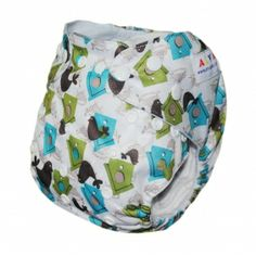 1 BABY AI2 PRINT RE-USABLE CLOTH DIAPER NAPPY+1 INSERT N17 [N17] - $5.59 : alvababy cloth diaper www.alvababy.com