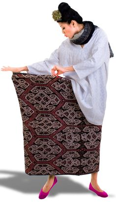 indonesian authentic fabric, designed by Oscar Lawalata