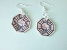LOST Dharma Initiative Swan Station Dangle by JellyBreShop on Etsy