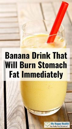 Natural Detox Drink That Will Burn Stomach Fat Immediately when consumed correctly. This recipe consists of only natural ingredients and you probably already have them lying around in your kitchen. Remedies For Nausea, Health Remedies, Natural Health Tips, Health And Beauty Tips, Banana Drinks, Natural Detox Drinks, Burn Stomach Fat, Health And Fitness Articles, Health Fitness