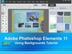 How To Photoshop Elements 11 Change Background Techniques - Adobe Photos...