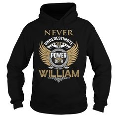 Never Underestimate The Power Of A WILLIAM