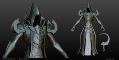Malthael - Diablo III Fan Art Contest Sculpt by KoraxArt