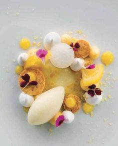 Deconstructed Tart au Citron