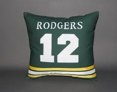 """Green Bay Packers Sports Pillow-16x16"""" on Etsy"""
