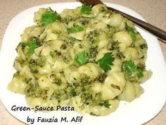 Green-Sauce Pasta