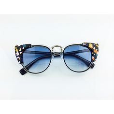FENDI COLORFUL DOTS CAT EYE SUNGLASSES 2014 ❤ liked on Polyvore featuring accessories, eyewear, sunglasses, cat eye sunglasses, fendi, dot sunglasses, cat-eye glasses and fendi eyewear