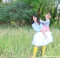 Mom's Best Network: TUTUs + Rain Boots = one magical mom moment!