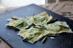 Asparagus Ravioli-The Cooking Bowl