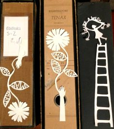 papercuts by Helene Schjerbeck for Edition Poshette & Co