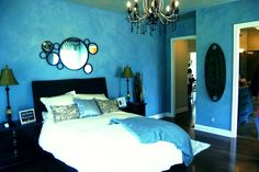 Dream Home Master Bedroom [altered hues] © Anne Mitchell*
