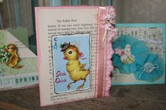 Cards made from Vintage Easter Kit