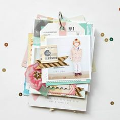 Life is Good (Mini Album) by Stephanie Bryan -- Crate Paper Style Board
