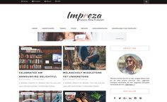 Impreza // Template Blogger gratuit - Free Blogger template
