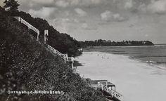 Ostseebad Neukuhren um 1930 Partie am Strand.