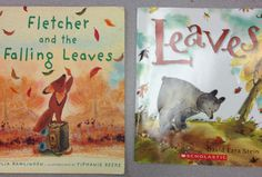 Great books to read before you take your kiddos for a leaf walk! Read about our fun leaf activity on our blog.