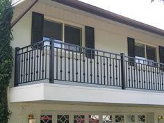 creative porch railing