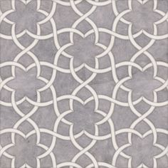 This Moorish-inspired pattern is part of the Talya collection of mosaics designed by Sara Baldwin for Marble Systems.