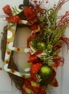 Christmas wreath...next on the list