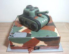 Army cake   leger taart taart tank