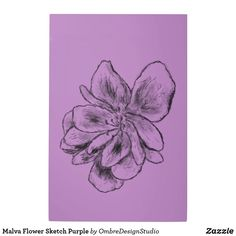 Shop Malva Flower Sketch Purple Metal Print created by OmbreDesignStudio. Holiday Cards, Christmas Cards, Flower Sketches, Hanging Wire, Elephant Gifts, Your Design, Art Pieces, Purple, Metal