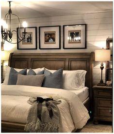 Dream Bedroom, Home Bedroom, Modern Bedroom, Contemporary Bedroom, Queen Bedroom, Bedroom Simple, Romantic Master Bedroom Ideas, Bedroom Black, Bedroom Brown