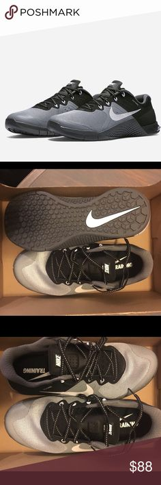 Women's Nike Metcon 2 crossfit shoe Brand new ! Never worn women's nike metcon 2 in stealth color. $130 on Nike.com. ‼️ price is firm  authentic. ❌no trades. Ask about other sizes Nike Shoes Athletic Shoes