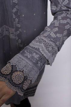 Pintuck Coat Dress