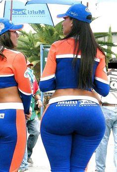 Thick big booty Latina #bigbooty #latinas