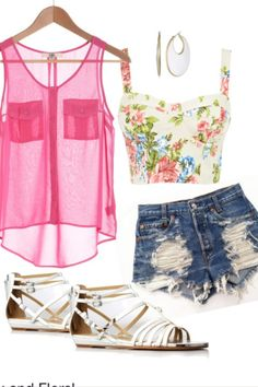 Love this outfit! Perfect for a beach vacation!