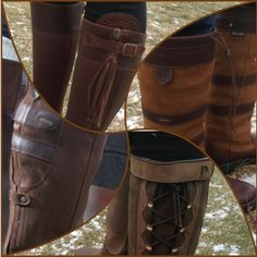 Dubarry, Dublin & Andalusian - These boots can cover some serious ground! Find the perfect addition to your barn (and everyday) footwear collection and shop with confidence with free shipping both ways! Which boots are on your favorites?