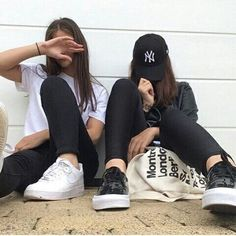 Bff goals - picture ideas ♥ on we heart it Photos Bff, Bff Pictures, Best Friend Pictures, Bff Goals, Squad Goals, Best Friend Fotos, Friend Tumblr, Shotting Photo, Best Friend Photography