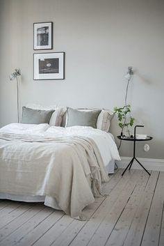 Ideas for bedroom: minimal nightstand(s)