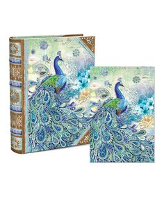 Look what I found on #zulily! Paisley Peacock Note Card & Book Box Set #zulilyfinds