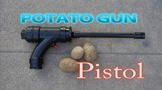 How To Make A Potato Gun Pistol