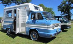 1963 Chevrolet 95 Rampside with camper..Beep Beep..Re-pin brought to you by agents of #Carinsurance at #HouseofInsurance in Eugene, Oregon