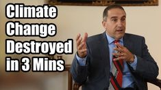 Expert Destroys Climate Change Hoax in 3 Minutes Climate Change Report, Global Warming Climate Change, Climate Change Effects, Conservative Politics, Environmentalist, Socialism, Communism, Fun Facts, Youtube