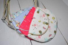 8ffd92107f petit sac enfant fillette tissu rose bleu flèche flamant Pochon Dragées,  Tissu Rose, Petit