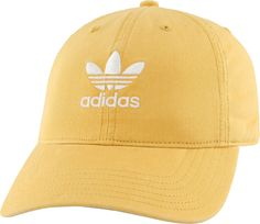 5a4a3cc3 adidas Originals Women's Relaxed Strapback Hat, Chalk Orange/White Adidas  Beanie, Adidas Outfit. DICK'S Sporting Goods