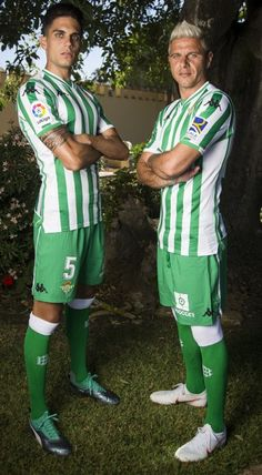 Real Betis 2018/19 Kappa Home Kit – FOOTBALL FASHION.ORG Marc Bartra, Football Fashion, Soccer Boys, Football Kits, Europa League, European Football, One Team, Kappa, Sportswear