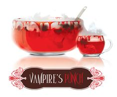 Vampire's Punch ...18 oz. SKYY Infusions Cherry; 8 oz. lime juice; 6 oz. cranberry juice; 2.5 oz. grenadine; sprite; fresh cherries, pits removed ... wash and remove pits and stems from cherries, and muddle in cocktail shaker. Combine remaining ingredients except Sprite in bowl and stir. Top with soda and muddled cherries.