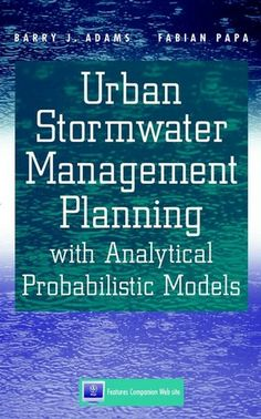 Understanding how to properly manage urban stormwater is a critical concern to civil and environmental engineers the world over. Mismanagement of #stormwater and #urban runoff results in flooding, erosion, and water quality problems.