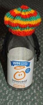 The Big Knit Challenge for Innocent Smoothies Knitting Designs, Knitting Projects, Knitting Patterns, Crochet Patterns, Sewing Projects, Knitted Animals, Knitted Hats, Lace Knitting, Knit Crochet