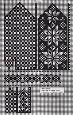 Photo Photo Hello girls today I plan to share examples of easy booties made - Knitting Knitted Mittens Pattern, Knit Mittens, Mitten Gloves, Knitting Socks, Knitting Charts, Knitting Patterns, Fair Isle Chart, Norwegian Knitting, Fair Isle Knitting